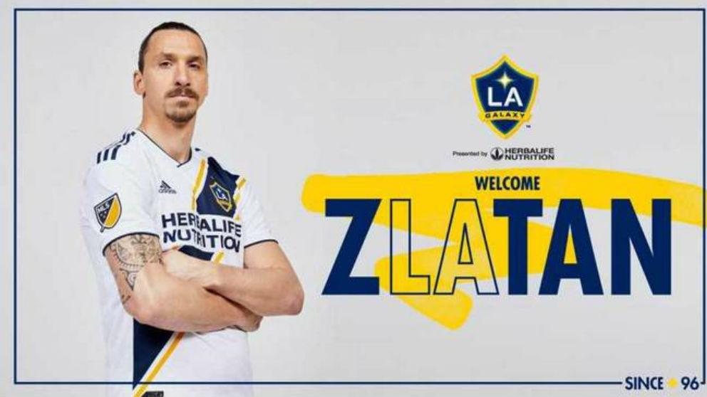 Ibrahimovic ya es nuevo jugador de Los Ángeles Galaxy.