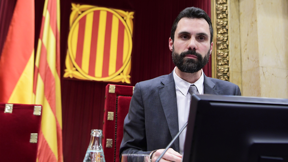 Roger Torrent, presidente del Parlament. (Foto: AFP)