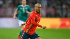 David Silva durante el Alemania – España. (AFP)