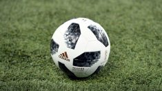 Telstar 18, balón del Mundial de Rusia. (AFP)