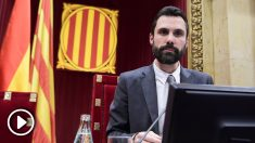 Roger Torrent, presidente del Parlament. (Foto: AFP)