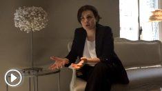 Adriana Domínguez, directora general de Adolfo Domínguez en un momento de la entrevista