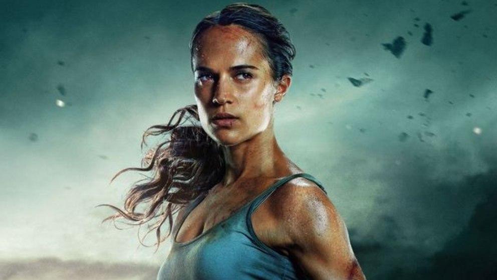 La actriz que encarnó el papel de Lara Croft tuvo que seguir una dieta algo estricta.