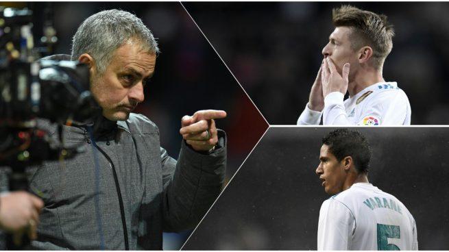 Mourinho quiere a Kroos y Varane para el United