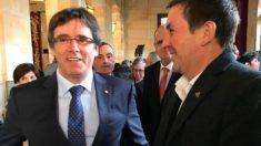 Arnaldo Otegi y Carles Puigdemont