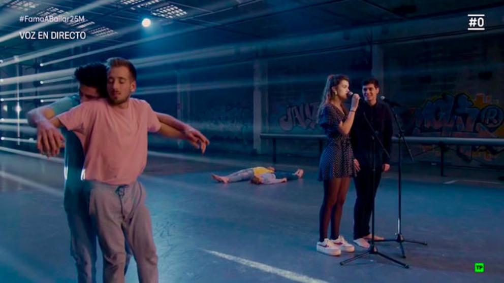 Así ha sido el paso de Alfred y Amaia (OT) por 'Fama, ¡a bailar!'
