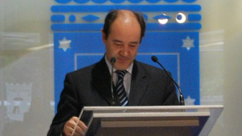 Celso Rodríguez, portavoz de la Asociación Profesional de la Magistratura (APM).