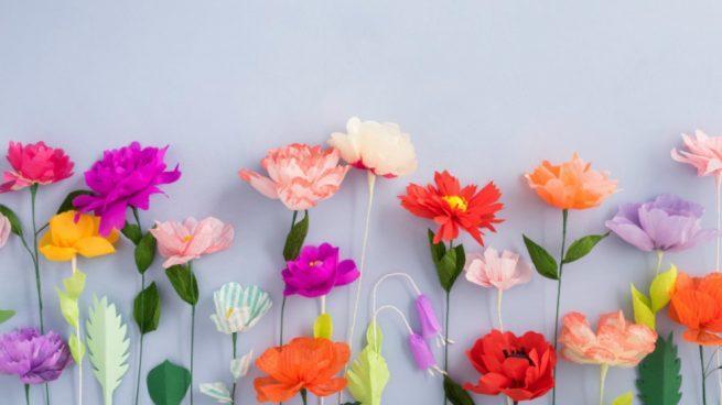Cmo hacer flores de papel de seda con estos sencillos pasos