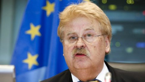 El eurodiputado alemán de la CDU Elmar Brok.