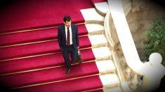 El mayor de los Mossos, Ferran López tras reunirse con Roger Torrent en el Parlament.