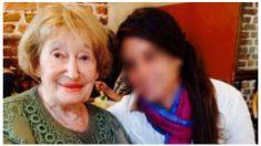 Mirelle Knoll, asesinada en París.