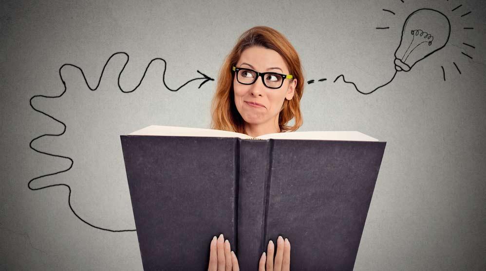El cerebro agradece que leas libros de ficción