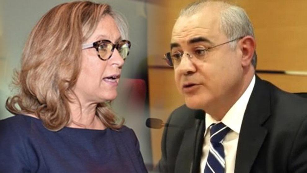 Oablo Llarena y Gema Espinosa