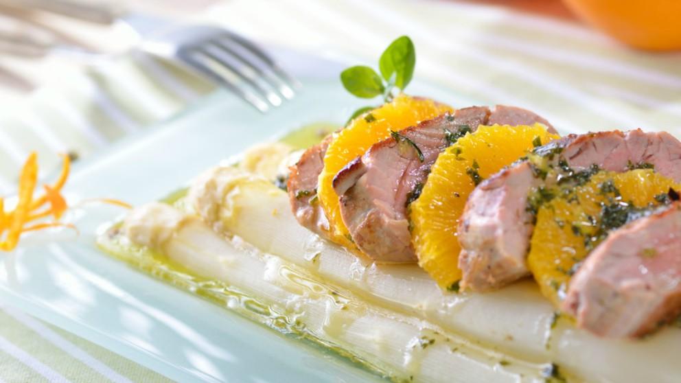Receta de lomo de cerdo a la naranja paso a paso