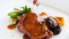 Receta de Pato laqueado tradicional de Pekín fácil de preparar
