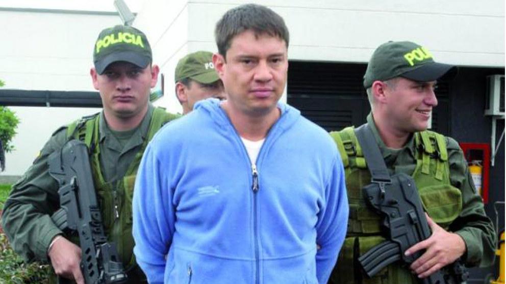 El capo del narco colombiano Gonzalo Germán Sánchez Rey, alias 'Coletas'.