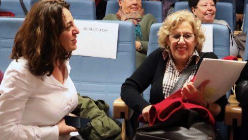 Celia Mayer y Manuela Carmena. (Foto. Madrid)