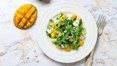 Receta de ensalada de cangrejo y mango una delicia en todos los sentidos