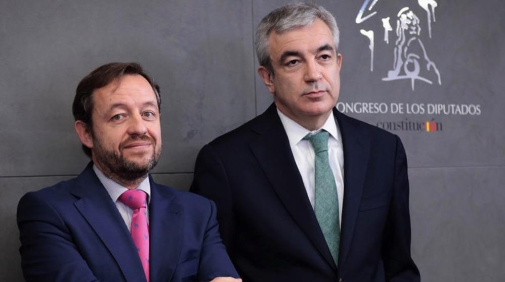 Francisco de la Torre y Luis Garicano. (Foto. Cs)