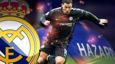 Eden Hazard es uno de los objetivos del Real Madrid.
