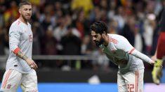 Isco, celebrando su gol ante Argentina (AFP).