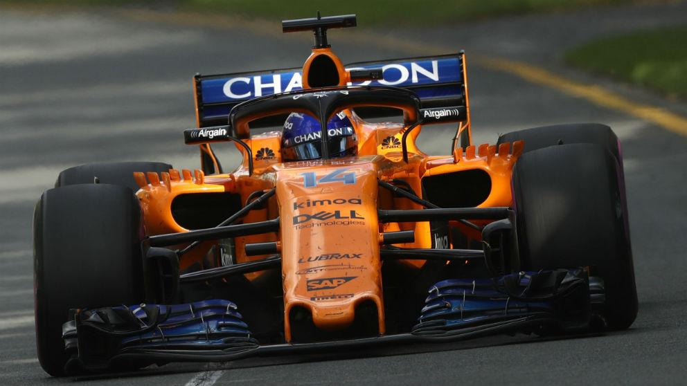 McLaren ha acertado de lleno cambiando los motores Honda por los de Renault, ya que la primera carrera del año ha demostrado que los propulsores japoneses siguen siendo lentos y poco fiables. (Getty)