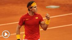 Nadal encabeza la lista para enfrentarse a Alemania en la Copa Davis (Getty)