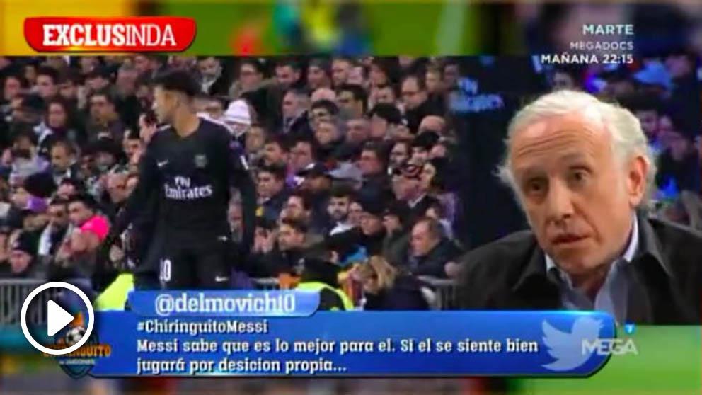 Inda desveló que Neymar ha pedido al jeque que fiche a Zidane de entrenador.