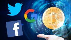 Twitter, Facebook y Google le declaran la guerra al bitcoin