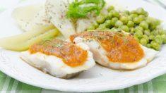 Receta de bacalao en salsa de almendras paso a paso