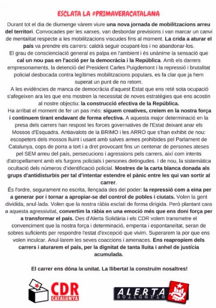 """Los CDR quieren cerrar el puerto de Barcelona: """"Así joderemos a la Seat, a los chinos, a Baleares…"""""""