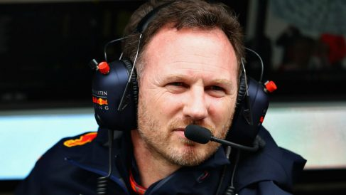 Christian Horner ha instado a la FIA a que prohíba los mapas motor exclusivos para la sesión de clasificación que tienen Mercedes y Ferrari, algo de lo que Renault carece. (Getty)