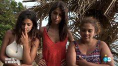 Sofía y Saray en el mirador con Melissa en 'Supervivientes 2018'