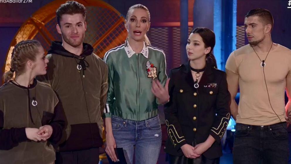 Txema, Laura, Ester y Pablo son los nominados en 'Fama a bailar'