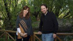 Pablo Iglesias y Cristina Fernández de Kirchner.