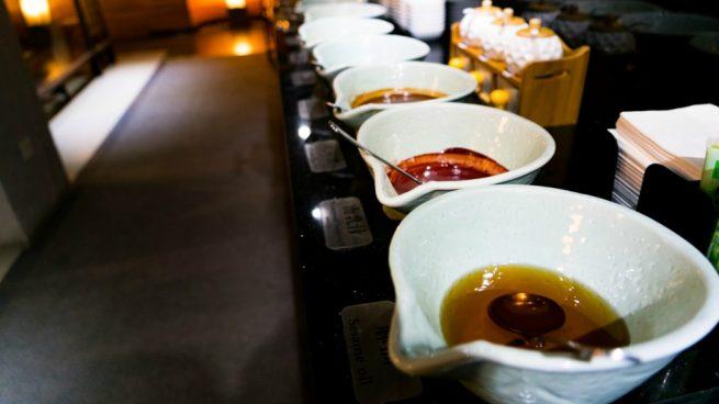 Salsa ensalada china