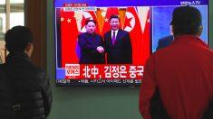 Kim Jong-un y Xi Jinping. (Foto: AFP)
