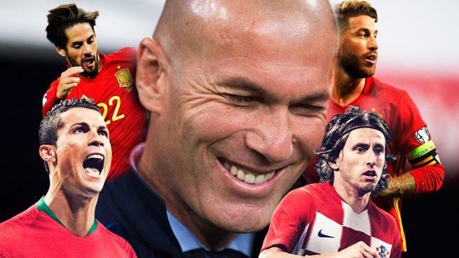 Zidane respira: vuelven todos sanos