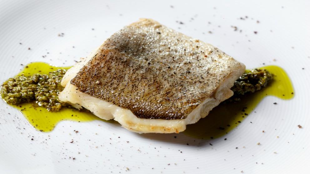Receta de bacalao con crema de eneldo paso a paso