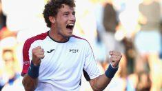 Pablo Carreño en el Masters 1000 de Miami (Foto: AFP)