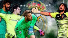 Los porteros que el Real Madrid pretende.