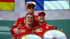 Kimi Raikkonen terminó muy enfadado el GP de Australia. (Getty)