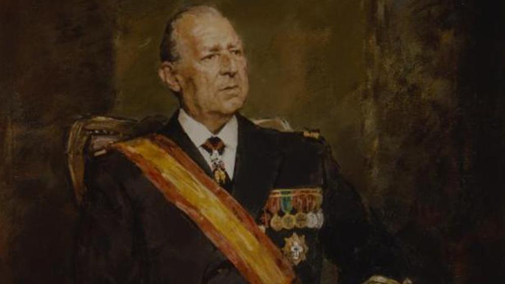 Retrato de don Juan de Borbón por Ricardo Macarrón.