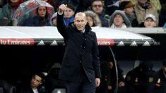 Zinedine Zidane rotará ante Las Palmas (Getty).