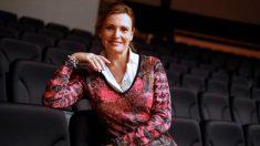 """La soprano Ainhoa Arteta, durante una entrevista con Efe en la que defiende el poder de la música para solucionar conflictos, """"y no solo de la música -advierte- sino de la cultura en general: la cultura hace que seas un ser mucho menos conflictivo, más respetuoso y también más respetable"""". Foto: EFE"""
