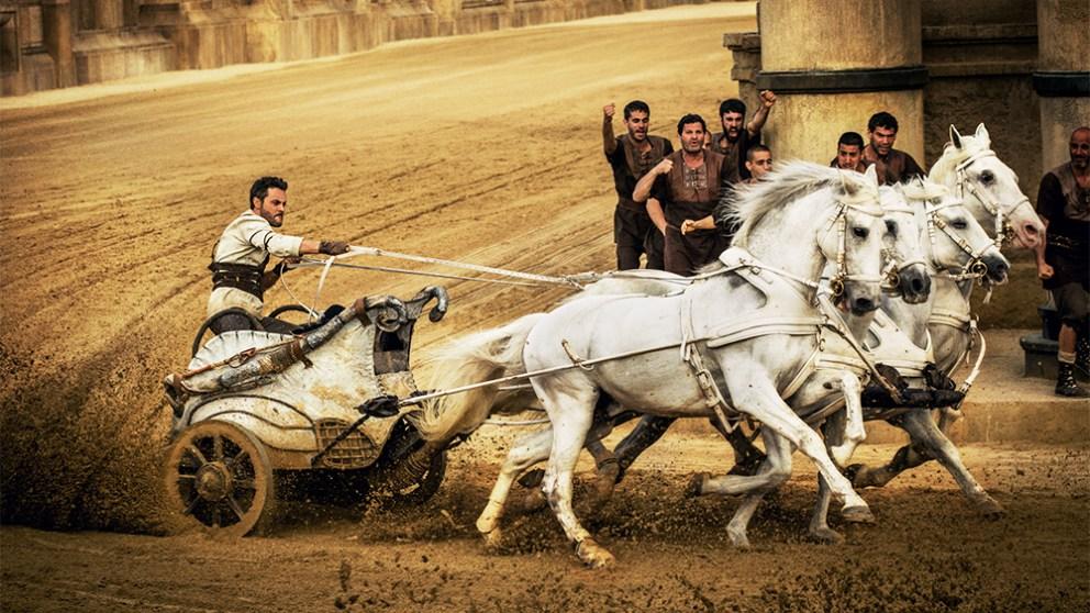 Ben Hur, una de las películas populares de Semana Santa