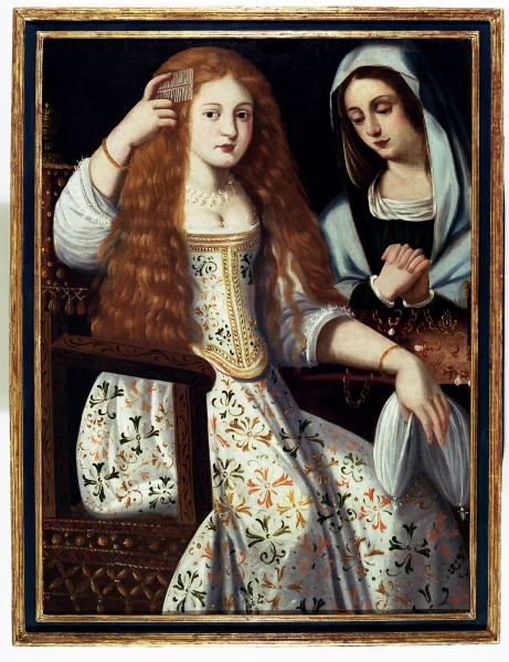 'La alegoría de la vanidad', el cuadro que podría ser un retrato de la actriz madrileña del siglo XVII 'La Calderona'.