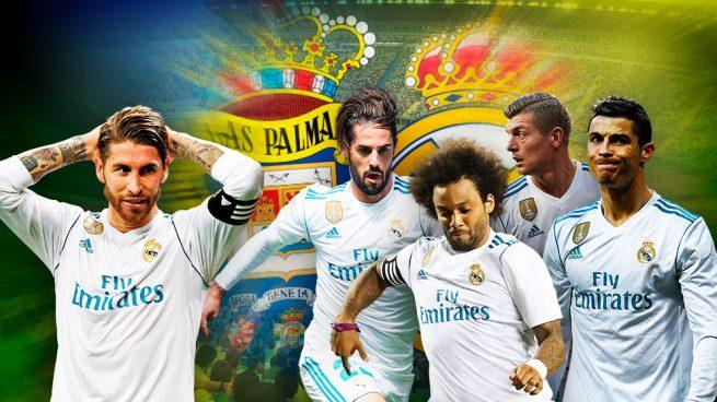 Cristiano, Isco, Ramos, Marcelo y Kroos no viajan a Las Palmas
