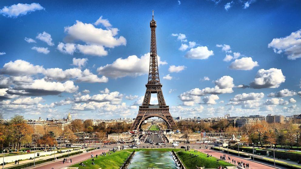 La torre Eiffel.