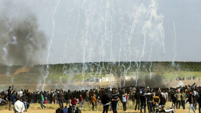 disturbios en la franja de gaza1